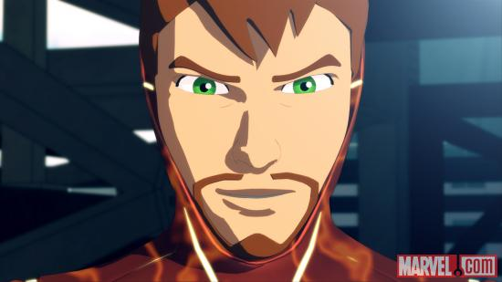 Screenshot of Tony Stark from IMAA, Season 2 Ep. 18