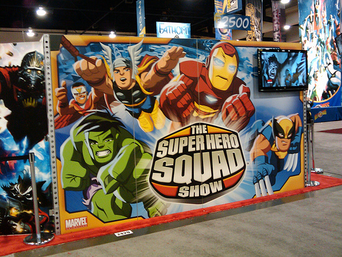 Super Hero Squad graphics
