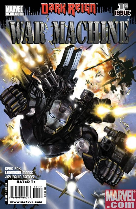 WAR MACHINE #1 cover by Leonardo Manco