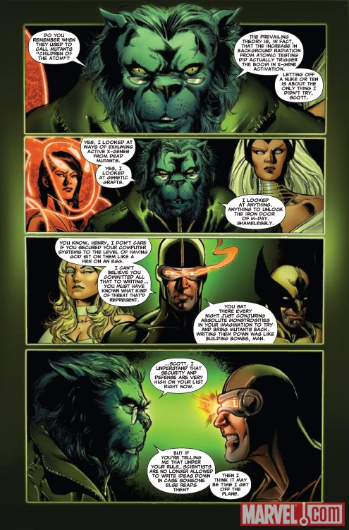 ASTONISHING X-MEN #34 preview art by Phil Jimenez