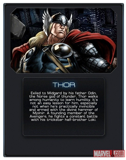 Thor in Marvel: Avengers Alliance
