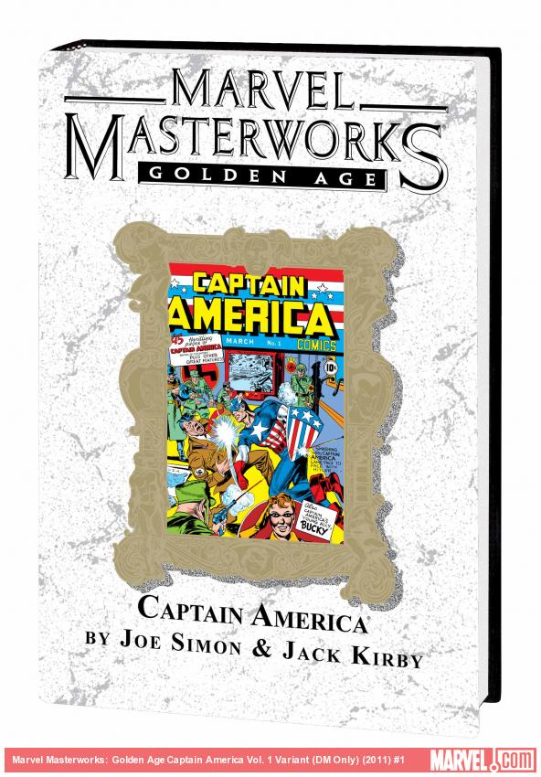 MARVEL MASTERWORKS: GOLDEN AGE CAPTAIN AMERICA VOL. 1 TPB VARIANT (DM ONLY)