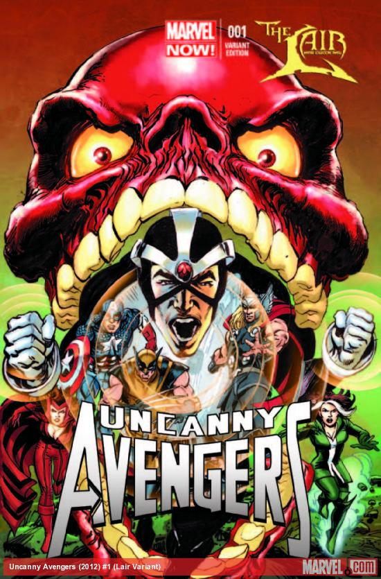 UNCANNY AVENGERS 1 LAIR VARIANT (NOW, WITH DIGITAL CODE)