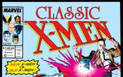 Classic X-Men (1986) #8 Cover