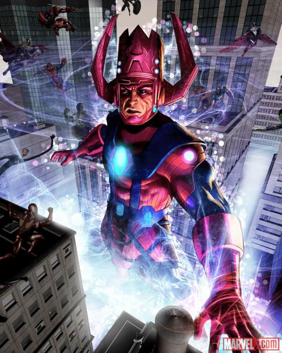 Galactus card art by greg horn from marvel war of heroes