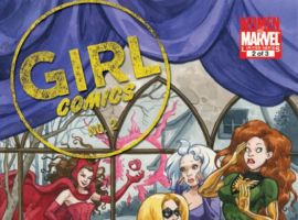 GIRL COMICS #2 cover by Jill Thompson
