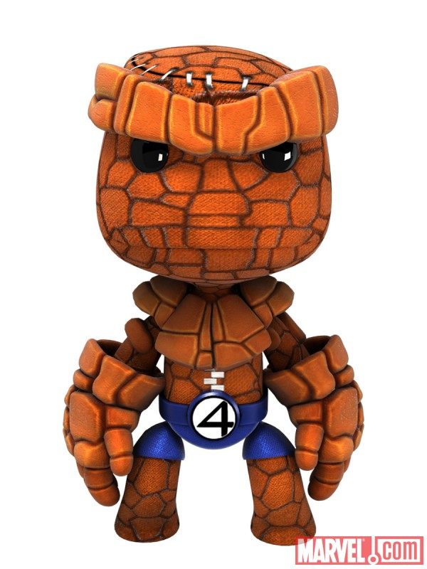 The Thing costume in LittleBigPlanet