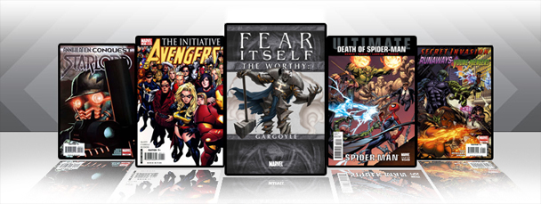 Marvel iPad/iPod App: Latest Titles 5/18/11