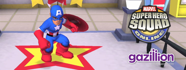 Super Hero Squad Online: Meet Captain America