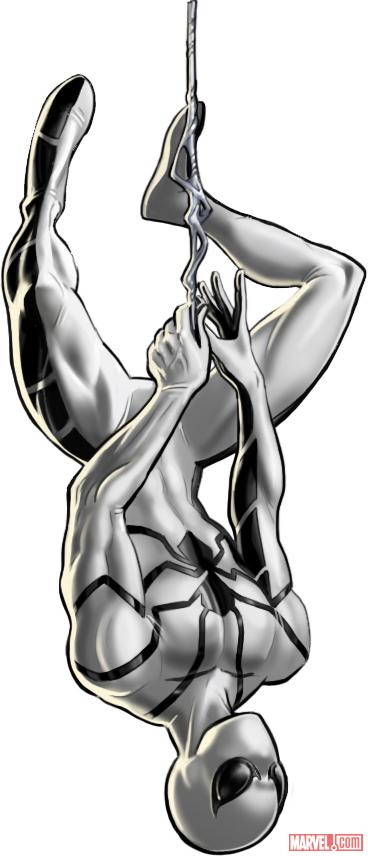 Spider-Man (alternate costume) character model from Marvel: Avengers Alliance