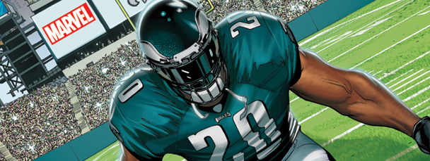 Brian Dawkins Becomes Weapon X
