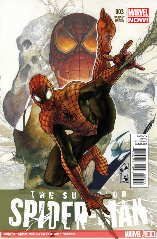 cover from Superior Spider-Man (2013) #3 (TBD ARTIST VARIANT)
