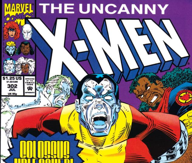 Uncanny X-Men (1963) #302 Cover
