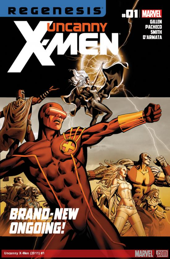 Uncanny X-Men (2011) #1
