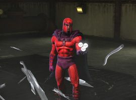 Magneto in Action - Marvel Heroes 2015