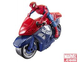 Zoom 'n Go Vehicles: Spider-Man Motorcycle