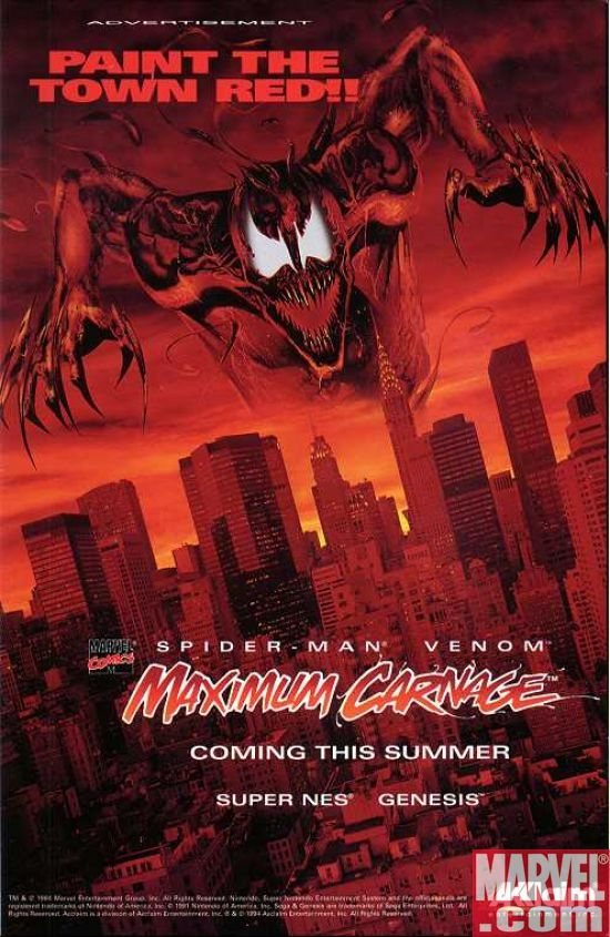 Maximum Carnage poster