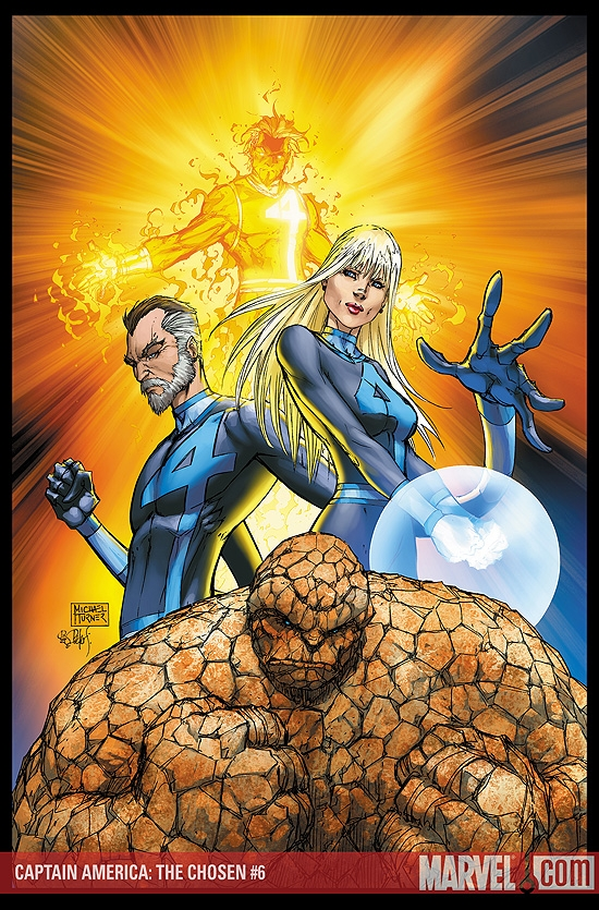 FANTASTIC FOUR #553