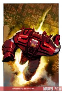 Iron Man: Director of S.H.I.E.L.D. (2007) #19 (2ND PRINTING)