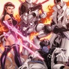 Uncanny X-Force #19 variant cover by Nick Bradshaw