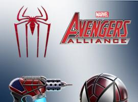 Spider-Man Items Arrive in Avengers Alliance