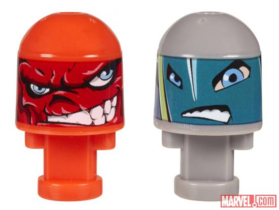 Red Skull and Whirlwind Marvel Bonkazonks