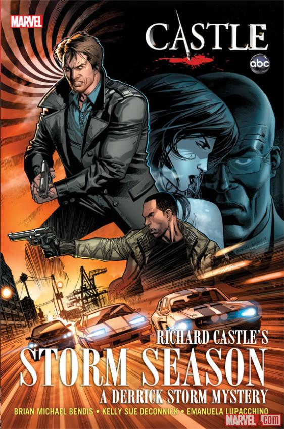 Castle: Richard Castle's Storm Season cover by Emanuela Lupacchino