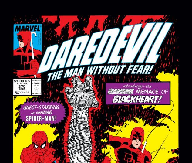 Daredevil (1963) #270 Cover