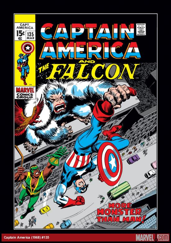 Captain America (1968) #135 Cover