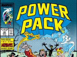 Power Pack (1984) #40 Cover