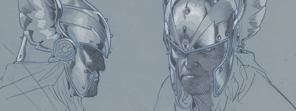 Thor: God of Thunder Sketchbook Pt. 2