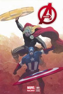 Avengers (2012) #1 (Ribic Variant)