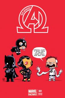 New Avengers #1  (Young Variant)
