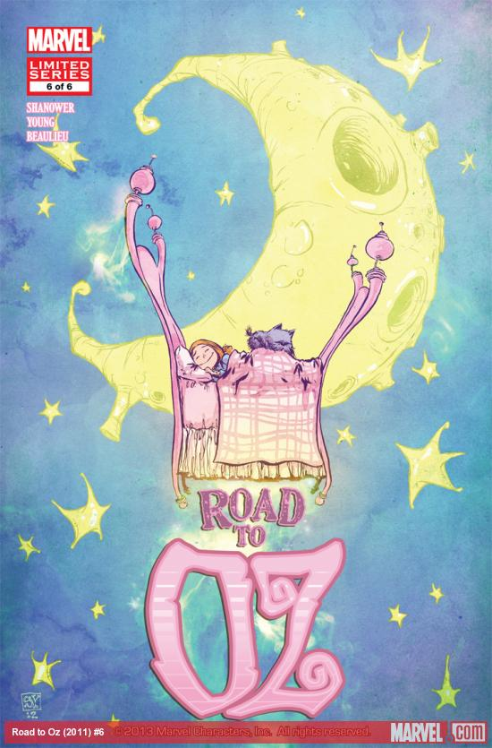 Cover: Road to Oz (2011) #6