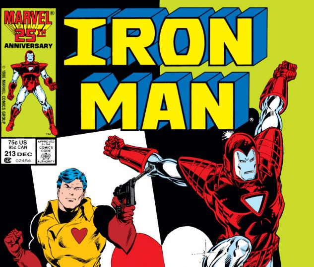 Iron Man (1968) #213 Cover