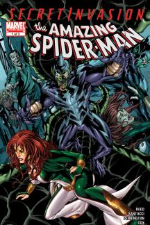 Secret Invasion: Spider-Man - Brand New Day (2008) #1
