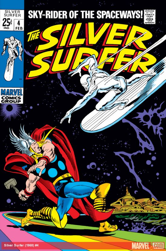 Silver Surfer (1968) #4