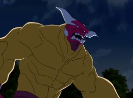 Mangog attacks in Marvel's Avengers Assemble - All-Father's Day