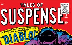 Tales of Suspense (1959) #9 Cover