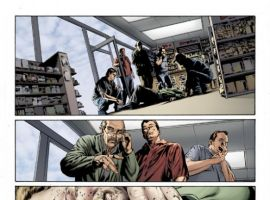 Preview art by Mike Perkins