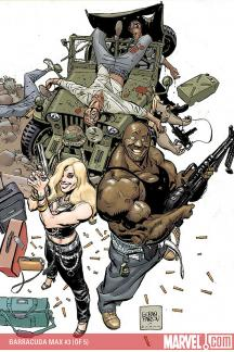 Punisher Presents: Barracuda Max (2007) #3
