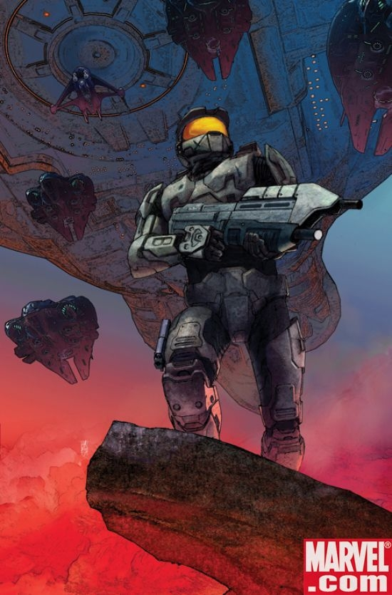 Halo: Uprising #1 Cover