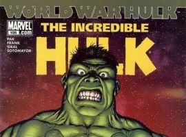 INCREDIBLE HULK #106 (2007) cover by Gary Frank