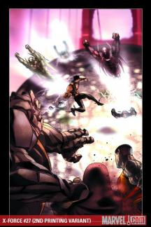 X-Force (2008) #27 (2ND PRINTING VARIANT)