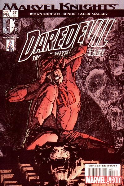 DAREDEVIL #27 (1998) cover by Alex Maleev