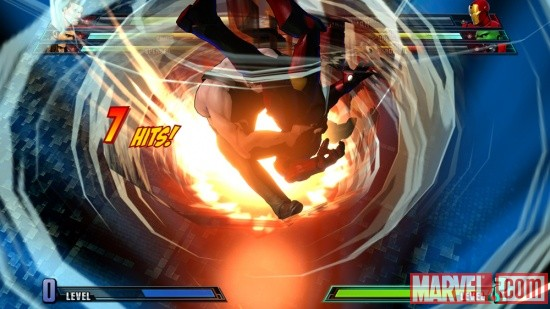 Haggar and Iron Man from Marvel vs. Capcom 3