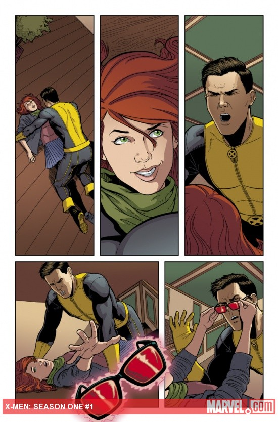 X-Men: Season One preview art by Jamie McKelvie