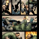 Battle Scars #1 preview art by Scot Eaton