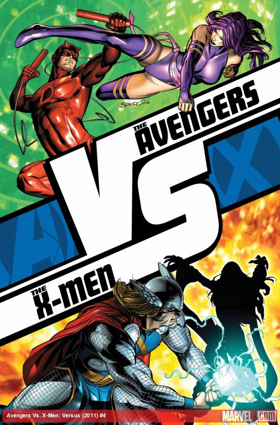 Cover from Avengers vs. X-Men: Versus #4