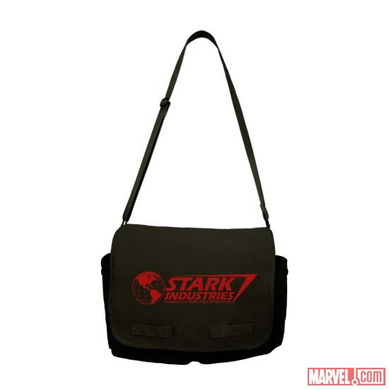 Stark Industries messenger bag by WeLoveFine
